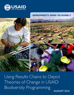 Biodiversity How-To Guide 2: Using Results Chains to Depict Theories of Change in USAID Biodiversity Programming