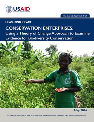 Conservation Enterprises: Using a Theory of Change Approach to Examine Evidence for Biodiversity Conservation