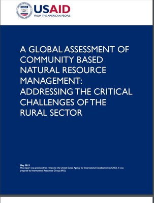 A global assessment of community based natural resource management: addressing the critical challenges of the rural sector