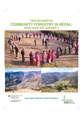 Two decades of community forestry in Nepal: What have learned?