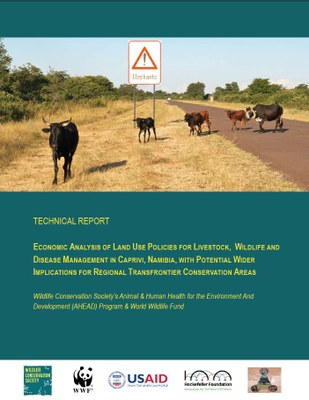 Economic Analysis of Land Use Policies For Livestock, Wildlife and Disease Management In Caprivi, Namibia, With Potential Wider Implications For Regional Transfrontier Conservation Areas