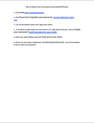 How to Reset Your Password Downloadable PDF