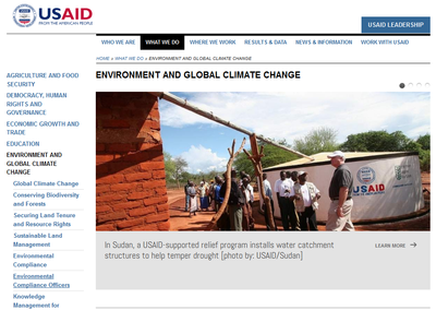 USAID Environment and Global Climate Change
