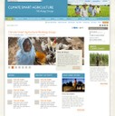 Possible page layout for Climate Smart Agriculture Working Group.