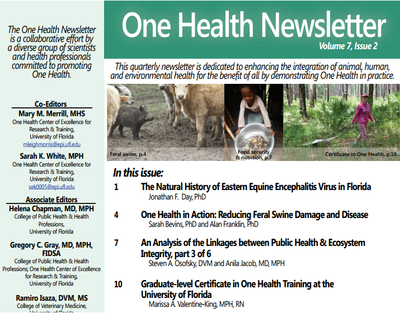 One Health Newsletter-Volume 7, Issue 2