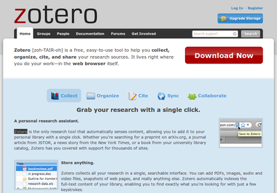 What is Zotero? — USAID Natural Resource Management and