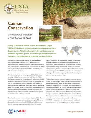 Caiman Conservation