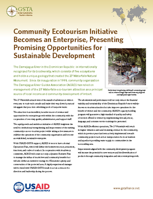Community Ecotourism Initiative Becomes an Enterprise, Presenting Promising Opportunities for Sustainable Development