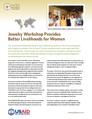 Jewelry Workshop Provides Better Livelihoods for Women