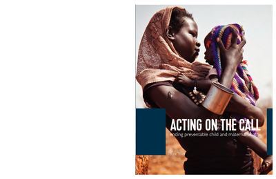 Acting on the Call: Ending Preventable Child and Maternal Deaths PDF