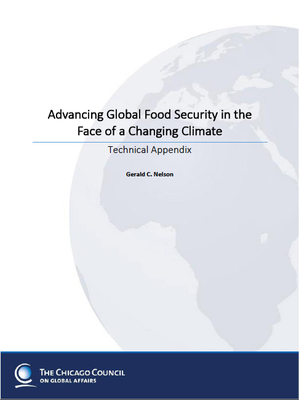 Advancing Global Food Security in the Face of a Changing Climate: Technical Appendix