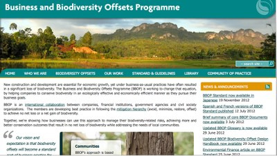 Business and Biodiversity Offsets Programme (BBOP)