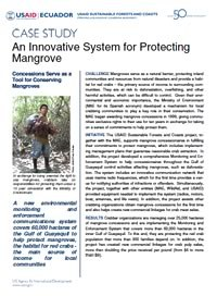 Case Study - An Innovative System for Protecting Mangrove