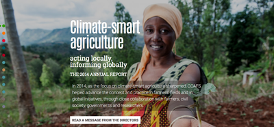 CCAFS Climate Smart Agriculture 2014 Annual Report