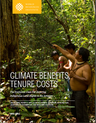 CLIMATE BENEFITS,  TENURE COSTS