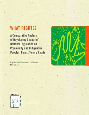 What Rights? A Comparative Analysis of Developing Countries' National Legislation on Community and Indigenous Peoples' Forest Tenure Rights