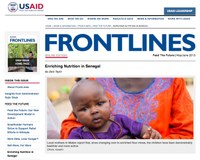 USAID Frontlines May/June 2013: Enriching Nutrition in Senegal