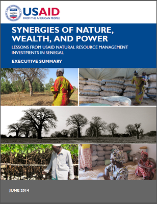 Executive Summary - Synergies of Nature, Wealth, and Power  Lessons From USAID Natural Resource Management Investments In Senegal