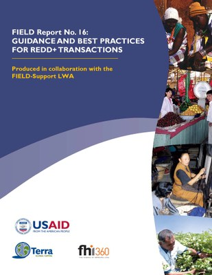 Guidance and Best Practices for REDD+ Transactions Paper