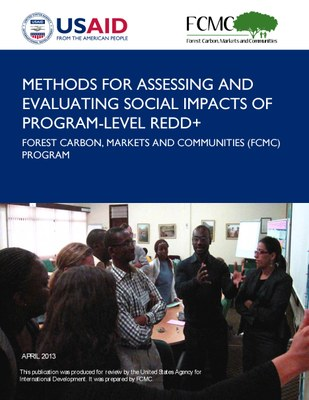 Methods for Assessing and Evaluating Social Impacts of Program-Level REDD+