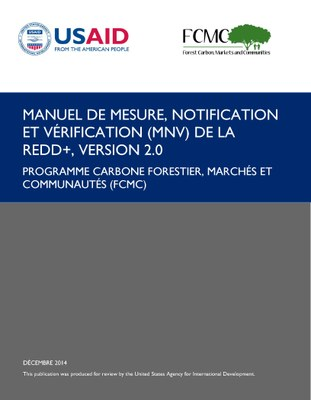 Manuel de mesure, notification et verification (MNV) de la REDD+ version 2.0