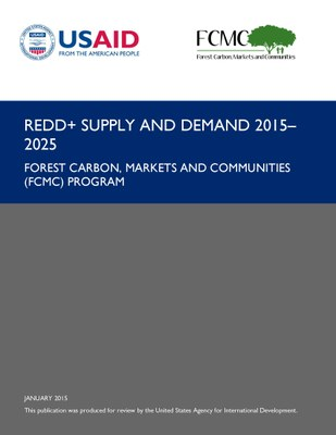 REDD+ Supply and Demand 2015-2025