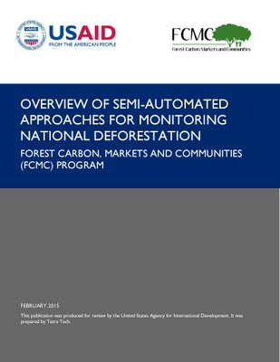 Semi-automated Approaches for Monitoring National Deforestation