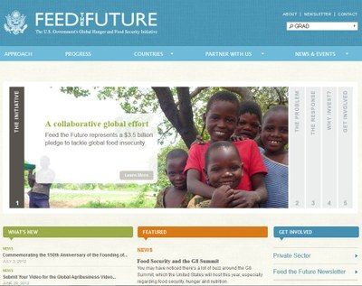 Feed the Future: The U.S. Government's Global Hunger and Food Security Initiative