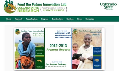 Feed the Future Food Security Innovation Lab for Collaborative Research for Adapting Livestock Systems to Climate Change