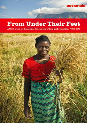 From Under Their Feet: A Think Piece On The Gender Dimensions Of Land Grabs In Africa.