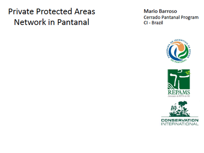 Private Protected Areas Network in Pantanal