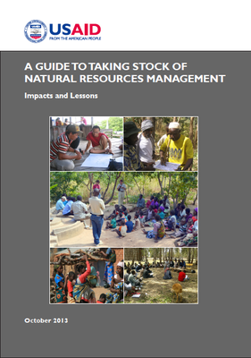 A Guide to Taking Stock of Natural Resources Management: Impacts and Lessons