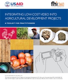 Integrating low-cost video into agricultural development projects : a toolkit for practitioners