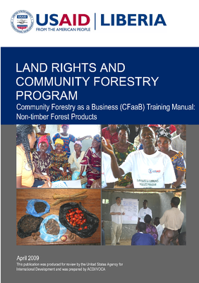 Community Forestry as a Business Training Manual: NTFP