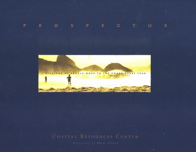 Coastal Resources Center prospectus: Highlights of 1999-2000.