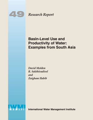 Basin-level use and productivity of water: Examples from South Asia