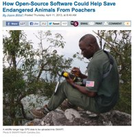 How Open-Source Software Could Help Save Endangered Animals From Poachers