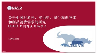 Research Study on Consumer Demand for Elephant, Pangolin, Rhino and Tiger Parts and Products in China (Chinese)