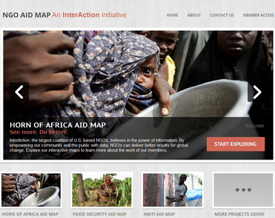 NGO Aid Map: An InterAction Initiative