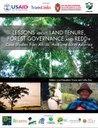 Lessons on Land Tenure, Forest Governance and REDD+: Case Studies from Africa, Asia, and Latin America