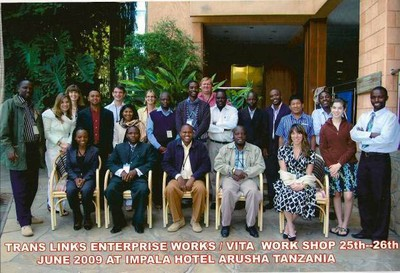 Group Photo from 2009 Value Chain Workshop (Arusha, Tanzania)