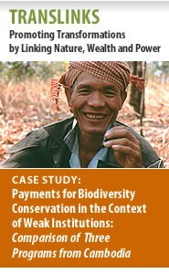 TransLinks: Case Study: Payments for Biodiversity Conservation in the Context of Weak Institutions Featured November 22, 2011