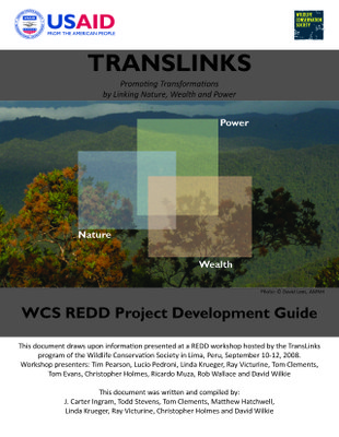 WCS REDD Project Development Guide