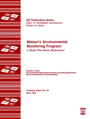 Malawi's Environmental Monitoring Program: A Model That Merits Replication?