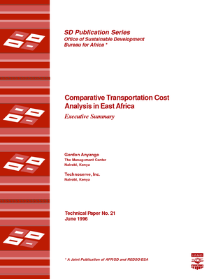 Comparative Transportation Cost Analysis in East Africa: Executive Summary