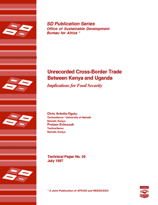 Unrecorded Cross-Border Trade Between Kenya and Uganda, Implications for Food Security