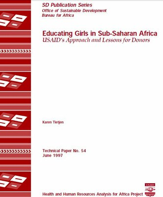 Educating Girls in Sub-Saharan Africa USAID's Approach and Lessons for Donors