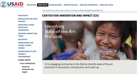 USAID Center for Innovation and Impact