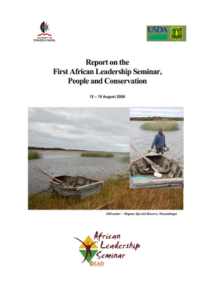 Africa: Report on the First African Leadership Seminar, People and Conservation; Aug 06