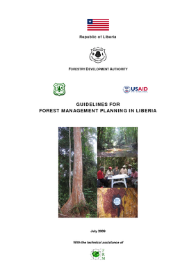 Liberia USFS IP Guideline: Guidelines for Forest Management Planning; July 2009